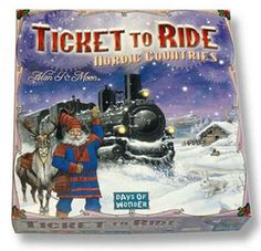 Ticket to Ride Nordic Countries is a complete board game designed specifically for 2 or 3 players. This special edition version of Nordic Countries is expected to be available for only a limited time. Helsinki, The Great, Souvenir Store, Board Game Design, Lets Play A Game, Ticket To Ride, Family Board Games, Nordic Christmas, Christmas Wishes
