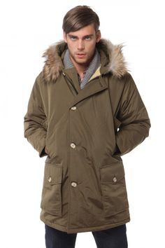Woolrich Arctic Parka Anorak M Coffee Outlet