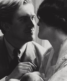 It's funny, I feel as if I'm only half myself without him. Downton