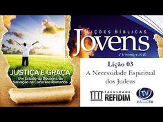 A Necessidade Espiritual dos Judeus - AD Joinville - EBDWeb