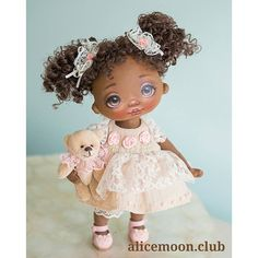 Tiny Dolls, Soft Dolls, Pretty Dolls, Beautiful Dolls, Alice, Doll Painting, Dolls For Sale, Doll Maker, Collector Dolls