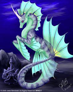 Hippocampus Unicorn SeaCritter by ~benwhoski on deviantART Mythical Creatures Art, Mythological Creatures, Magical Creatures, Sea Creatures, Fantasy Kunst, Fantasy Art, Arte Equina, Seahorse Art, Seahorses