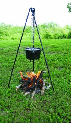 Love this Texsport Deluxe Campfire Cooking Tripod