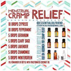 Essential Oils for Menstrual Cramps https://www.mydoterra.com/nicoleferraro/#/