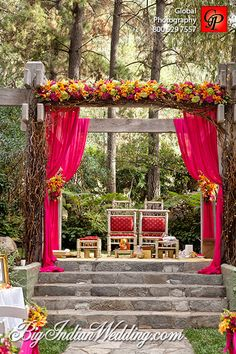 Wedding theme - Pink. Now plan your wedding around different themes and make your day even more special