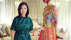 In the West, Guo Pei is known for making the canary-yellow gown Rihanna wore at this year's Met Gala in New York. Growing up during the Cultural Revolution and China's opening up, Guo shares how the country's past has shaped her designs and innovations. Photo/Video: Menglin Huang/The Wall Street Journal