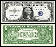 US 1 Dollar Note Series Serial# World War II Emergency Notes Hawaii overprint Signatures: Julian / Morgenthau The Great Seal Portrait: George Washington