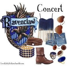 Fashion inspired by Ravenclaw Harry Potter Dress, Harry Potter Cosplay, Harry Potter Style, Harry Potter Houses, Harry Potter Outfits, Harry Potter Fandom, Hogwarts Houses, Ravenclaw, Nerd Fashion