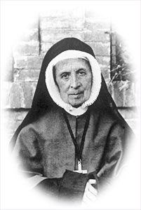 Saint Thérèse Couderc, also known as St. Theresa Couderc (1 February 1805 – 26 September 1885) was co-founder of the Sisters of the Cenacle, a Catholic religious order. Feastday, September 26