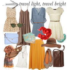 travel light, travel bright