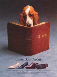 Hush Puppy ad (classic!). Agency, Fallon