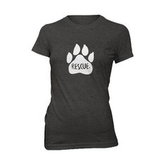 The Fur & Collar Rescue Women's T-shirt is a great way to show off your love for your best little buddy. 50% of total profits from the sale of the Rescue Shirt will be donated to a charity or organiza