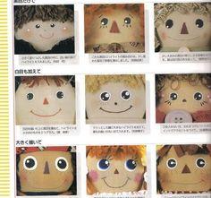 dolls faces