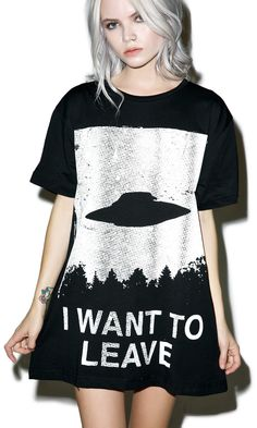Photo of I Want To Leave T-Shirt