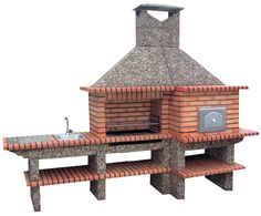 Picture of Wood Burning Pizza Oven Barbecue AV357F