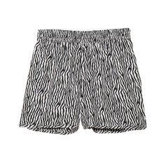 Fab.com | Animal Print Short Zebra
