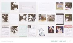 Guest Designer Sandlot Project Life Kit (PL Week by Annette H at The Sandlot, Pocket Scrapbooking, Studio Calico, Life Inspiration, Project Life, Mini Albums, Photo Wall, Paper Crafts, Kit