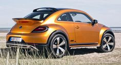 Production VW Beetle Dune Coming in 2016; Unfortunately FWD Only