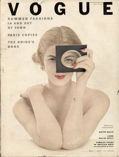 Carmen Dellorifice, Vintage Vogue Cover.
