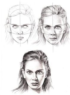 Face Proportion by Veri Apriyatno 2009