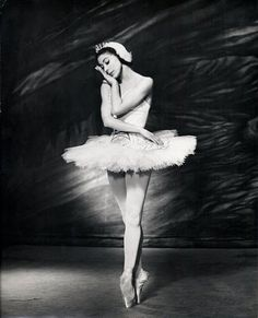 margot fonteyn ~ swan lake