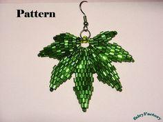 brick stitch earrings patterns free | 50% Off - Pattern - Love & other drugs - brick stitch earrings
