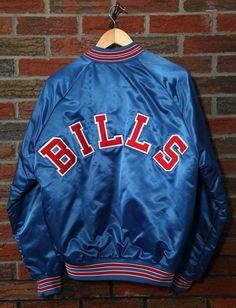 d2e8d8285 Vintage 90 s Buffalo Bills Chalk Line Satin Jacket SZ M – Sonny Buffalo  Vintage Sportswear