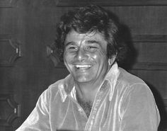 """Peter Falk at a Hollywood Foreign Press Interview Promo for """"Columbo"""", 1973"""