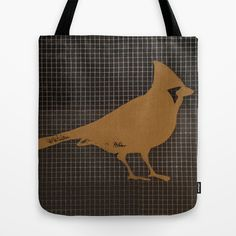 Cardinal Tote Bag by Plume - $22.00
