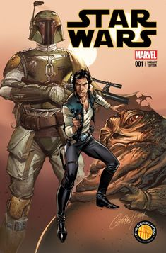 Star Wars #1 variant cover by J Scott Campbell