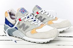 "New Balance 999 ""Kennedy"" x Concepts"