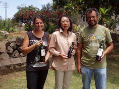 El 30 de mayo nos visitó Yoshiko Akehi, que se encuentra documentándose para el nuevo libro que prepara sobre los vinos españoles para publicar en Japón
