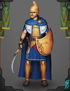 D D Characters, Fictional Characters, Futuristic Armour, Classical Antiquity, Medieval, Fantasy Warrior, Arabian Nights, Captain America, Concept Art
