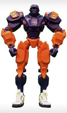 Denver Broncos Robot FOX Sports