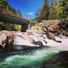 As you travel through the Smokies, be sure to stop at sights like The Sinks and enjoy the beautiful views and rushing waters.