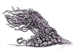 Lovecraft - Shoggoth, Terrastial by ~KingOvRats