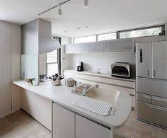 背面収納 キッチン 窓 - Google 検索