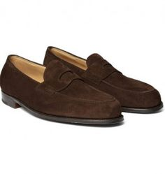 The loafer is a must-own summer shoe for any stylish man. We handpick the best summer loafers you can buy, from classic penny styles to modern slipper styles. Brown Suede Loafers, Penny Loafers, Loafers Men, Kingsman Suits, Mens Designer Loafers, Fashion Shoes, Mens Fashion, Style Fashion, Brown Shoe