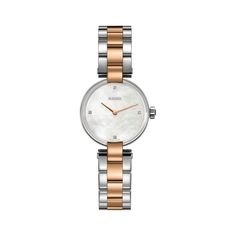 * RADO Ladies Coupole S Quartz Womens Luxury Watch Two tone Rose gold plated * Stainless Steel Watch, Stainless Steel Bracelet, Rolex Women, Watches For Men, Prime Watches, Bracelet Watch, Jewelry Watches, Quartz, Rose Gold