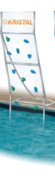 great rock climbing wall you attach to a pool