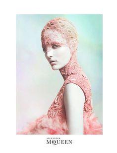 Sarah Burton for Alexander McQueen spring 2012