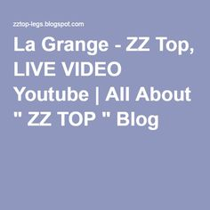 Zz top studio albums all about zz top pinterest zz top top albums and album - The grange zz top lyrics ...