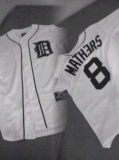 Detroit Mathers Jersey. Must have.