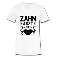Zahnarzt mit Herz - tolle Shirts und Geschenke ohne Risiken und Nebenwirkungen. #zahnarzt #zahnärzte #zahnärztin #herz #mediziner #gesundheitswesen #beruf #berufe #kleidung #geschenke #t-shirt #shirts #mode