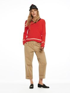 Chinos con carrot fit