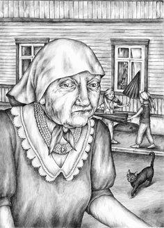 Illustration by Gerda Märtens for 'Salapaha' / 'Secretly Bad' by Kristi Rammul. Tänapäev, 2015