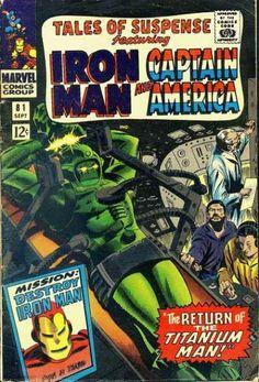Titanium Man - Iron Man - Captain America - Marvel Comics - Superhero - Gene Colan