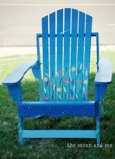 Painted Adirondack Chair!
