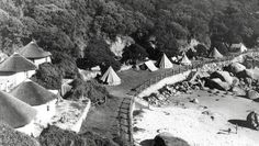 A favourite camping site for UCT students, during the before the spot was developed Camping Site, Campsite, Old Pictures, Cape Town, 1920s, South Africa, Flora, Southern, History