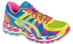 Loving this Flash Yellow & White GEL-Kayano® 21 Running Shoe on Black Running Shoes, Running Sneakers, On Shoes, Me Too Shoes, Asics Shoes, Asics Women, Boutique, Running Women, Road Running